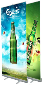1 Stop Roll Up Banner Toronto Retractable Banner Stands